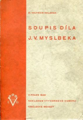 Soupis sochařského díla Josefa Václava Myslbeka