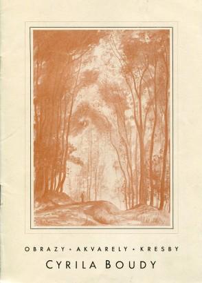 Cyril Bouda: Obrazy, akvarely, kresby