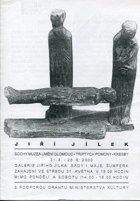 Jiří Jílek: Sochy Muzea umění Olomouc, Triptych Pomony, Kresby