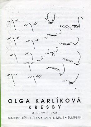 Olga Karlíková: Kresby