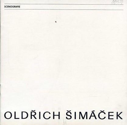 Oldřich Šimáček: Scénografie