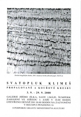 Svatopluk Klimeš: Propalované a kouřové kresby