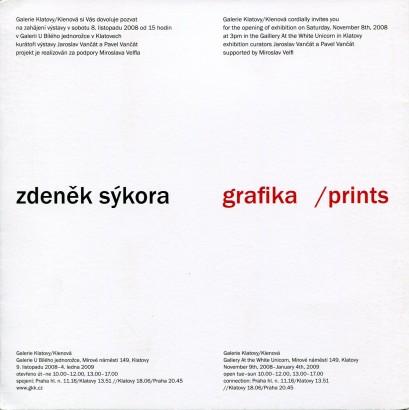 Zdeněk Sýkora: Grafika / Prints