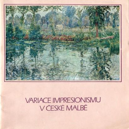 Variace impresionismu v české malbě