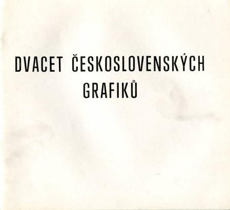 Dvacet československých grafiků