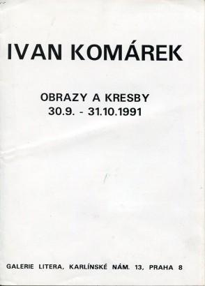 Ivan Komárek: Obrazy a kresby