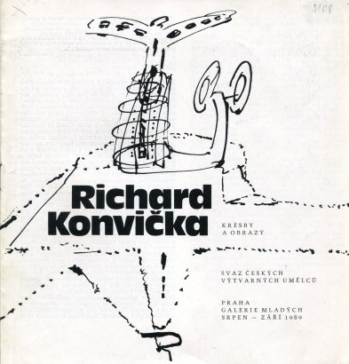 Richard Konvička: Kresby a obrazy