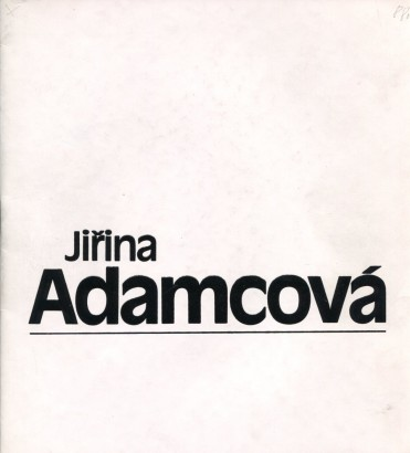 Jiřina Adamcová: Grafika, mozaiky 1981- 1988