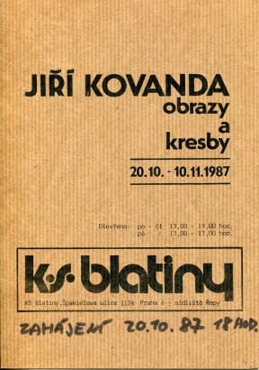 Jiří Kovanda: Obrazy a kresby