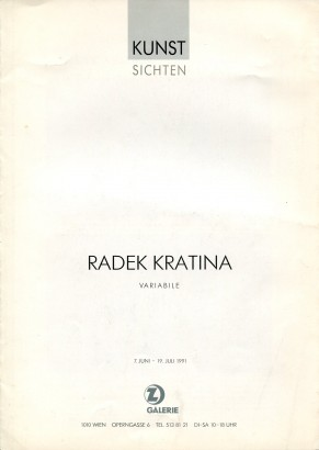 Radek Kratina: Variabile