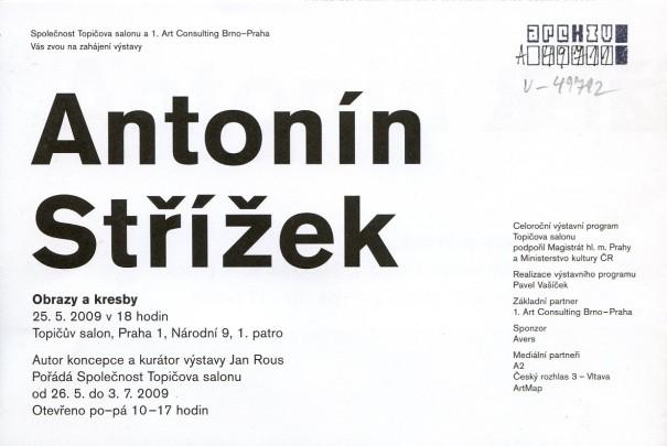 Antonín Střížek: Obrazy a kresby