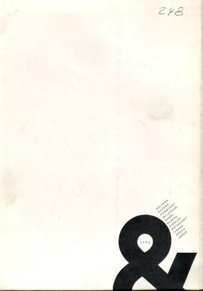 Typo &. Výstava užité grafiky a typografie