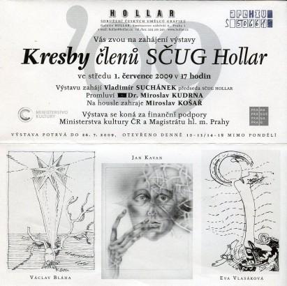 Kresby členů SČUG Hollar