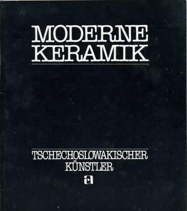 Moderne Keramik Tschechoslowakischer Künstler