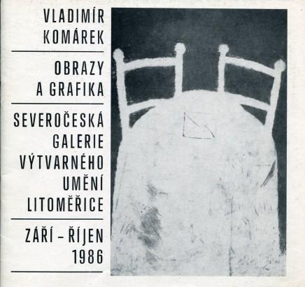 Vladimír Komárek: Obrazy a grafika