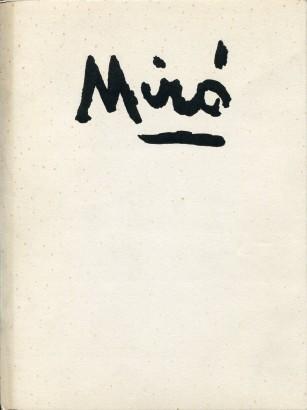 Miró, Joan - Joan Miró: Myšlenky / Kresby