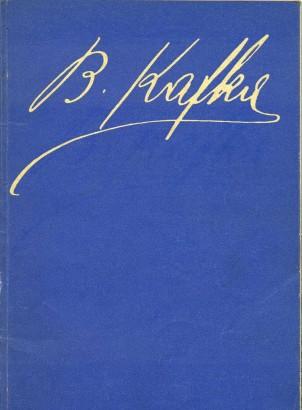 Procházka, Václav - Bohumil Kafka 1878 - 1942: Životní dílo
