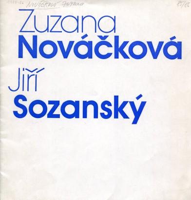 Zuzana Nováčková: Grafika, Jiří Sozanský: Kresby