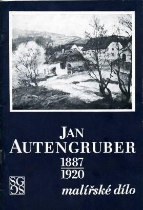 Jan Autengruber 1887-1920: Malířské dílo