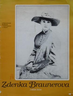 Zdenka Braunerová (1858 / 1934)