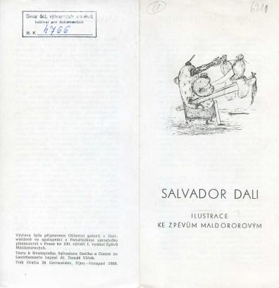 Salvator Dalí: Ilustrace ke zpěvům Maldororovým