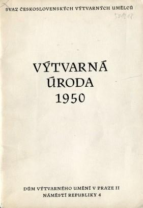 Výtvarná úroda 1950