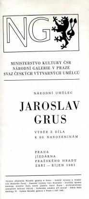 Jaroslav Grus: Výběr z díla k 90. narozeninám