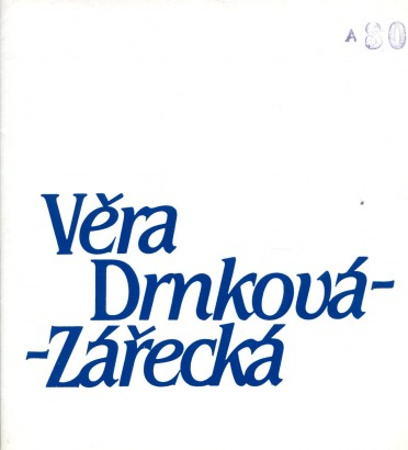 Věra Drnková-Zářecká: Tapisérie