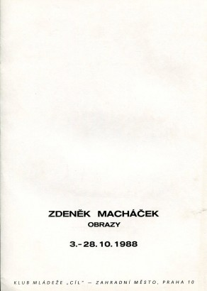 Zdeněk Macháček: Obrazy