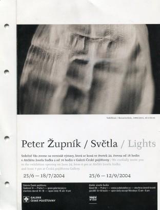 Peter Župník: Světla / Lights