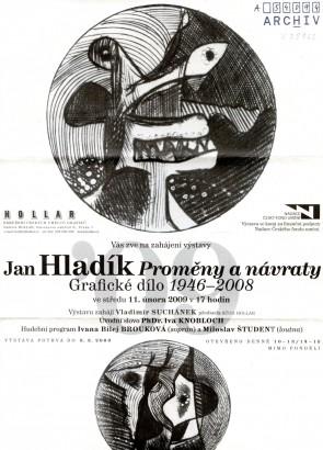 Jan Hladík: Proměny a návraty