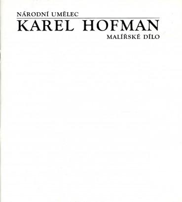 Karel Hofman: Malířské dílo