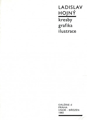 Ladislav Hojný: Kresby, grafika, ilustrace