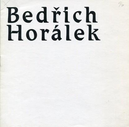 Bedřich Horálek: Obrazy