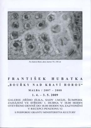 František Hubatka: Bouřky nad Kraví horou