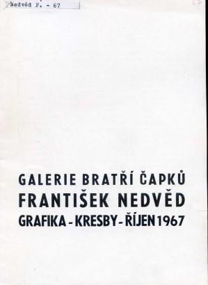 František Nedvěd: Grafika - kresby