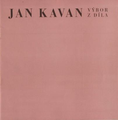 Jan Kavan: Výbor z díla