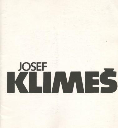 Josef Klimeš: Sochy 1971 - 1986