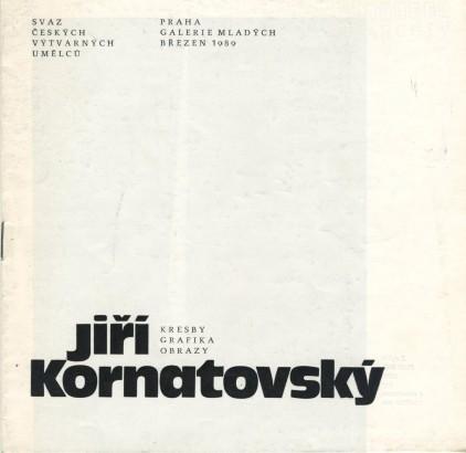 Jiří Kornatovský: Kresby, grafika, obrazy