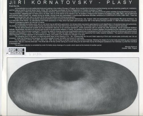 Jiří Kornatovský: Graphic Drawings