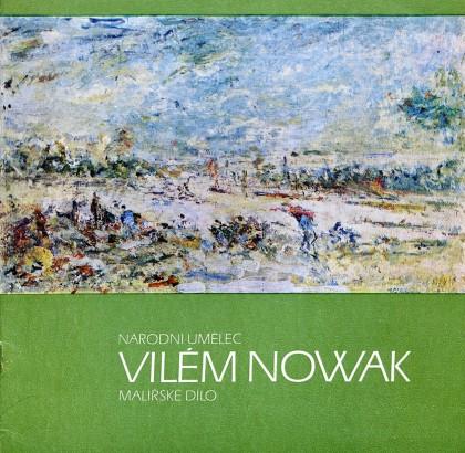 Vilém Nowak: Malířské dílo