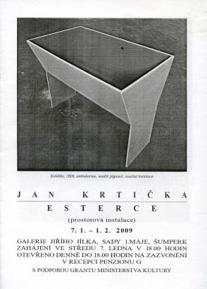 Jan Krtička: Esterce