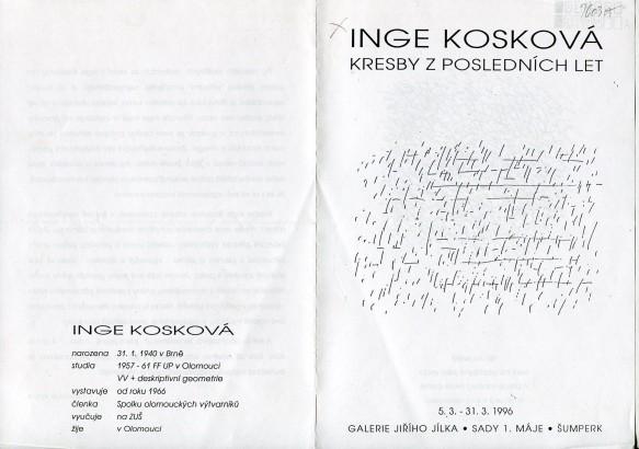 Inge Kosková: Kresby z posledních let