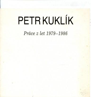 Petr Kuklík: Práce z let 1979 - 1986