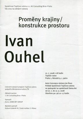 Ivan Ouhel: Proměny krajiny / konstrukce prostoru