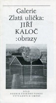 Jiří Kaloč: Obrazy