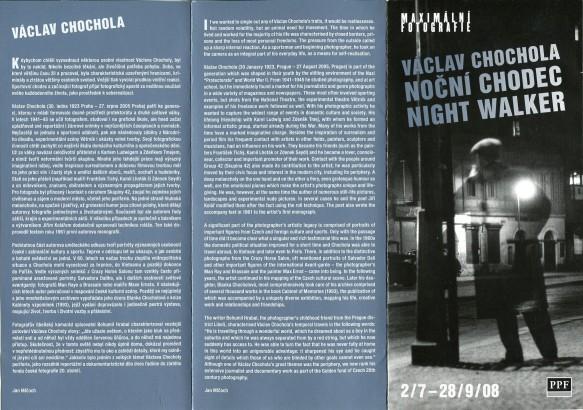 Václav Chochola: Noční chodec / Night Walker