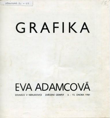 Eva Adamcová: Grafika
