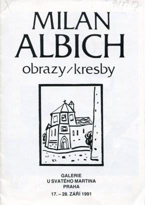 Milan Albich: Obrazy / kresby