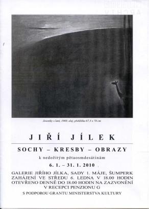 Jiří Jílek: Sochy - kresby - obrazy